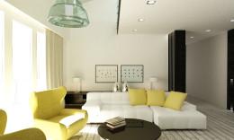 Minimalistyczny apartament w Tychach