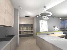 Projekt mieszkania  Saska 95m2