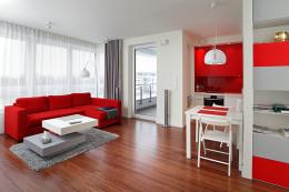 Męskie mieszkanie- realizacja