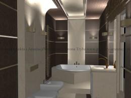 łazienka w stylu orintalnym