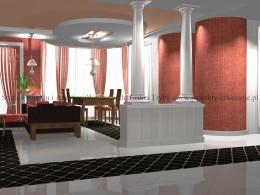 salon w stylu orintalnym