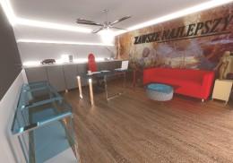 Biuro w domu atrialnym