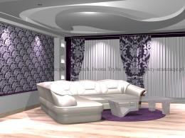 Wnętrza glamour III