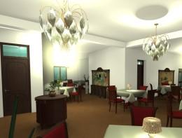 Restauracja na starym mieście .