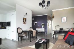 salon w mieszkaniu 55m