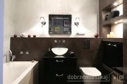 łazienka w mieszkaniu 55m