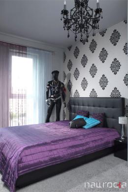sypialnia w mieszkaniu 55m