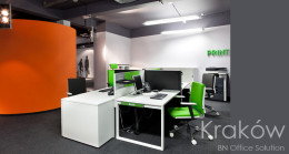 Showroom mebli biurowych