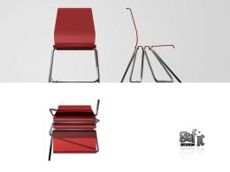 krzesło na jednej nodze