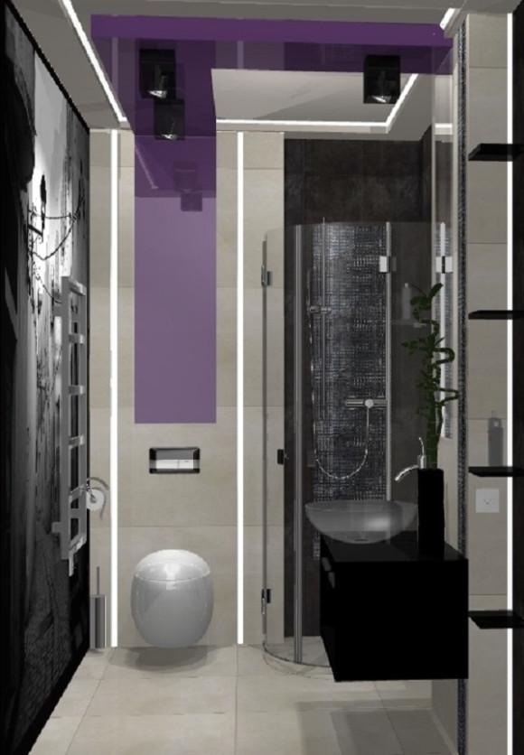 Malutka łazienka O Powierzchni 4m2 Ilona Budzicka