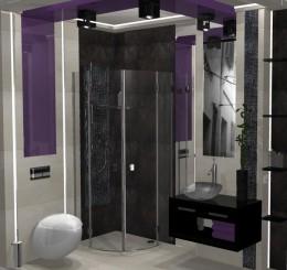 Malutka łazienka o powierzchni 4m2