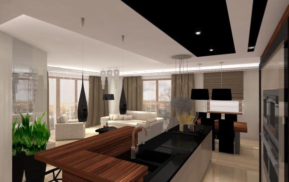Kuchnia Z Wyspą Studio Architetto E Aranżacjepl