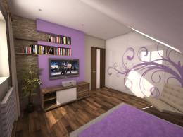 Wrzosowa sypialnia