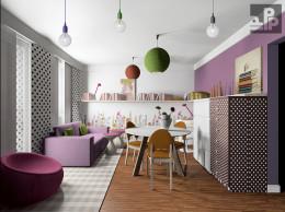 Salon z kuchnią - Wieliczka, Różana