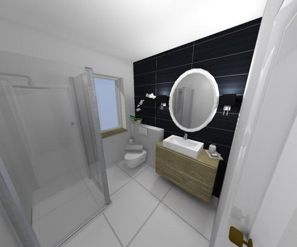 łazienka 4mkw Agnieszka Detka E Aranżacjepl