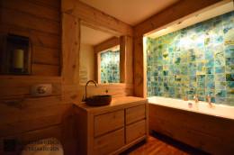 Łazienka z bali