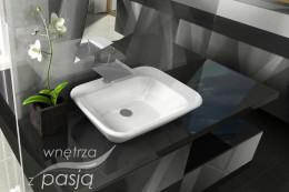 Domowy salon łazienkowo-sypialniany