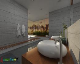 salon kąpielowy - naturalny