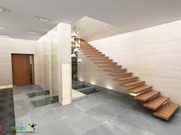 dom Moskwa - hol wejściowy