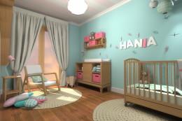 Pokój dziecięcy dla Hani