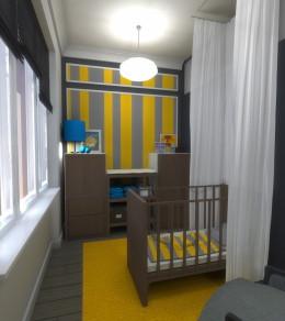 Pokój dziecięcy dla Max'a