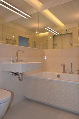 łazienka w mieszkaniu na Młocinach