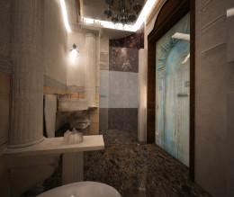 Antyczna łazienka
