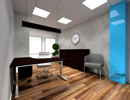 Pokój pracowniczy w biurze