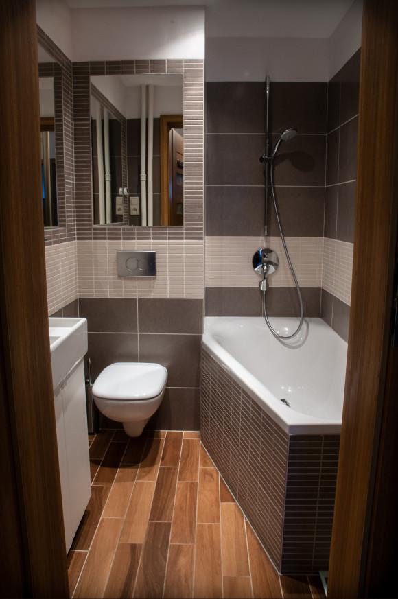 Mała łazienka Anna Maria Paszkowska E Aranżacjepl