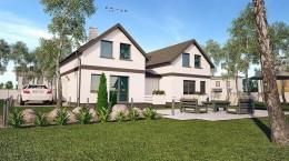 Projekt domu x2 wielorodzinnego
