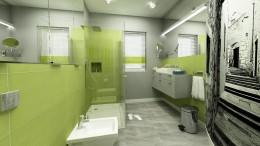 Projekt łazienki z aranżacją