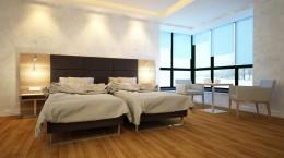 Projekt pokoju hotelowego