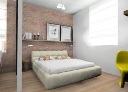 Mieszkanie w kamienicy-sypialnia