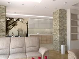 projekt wnętrz mieszkania Szczecin