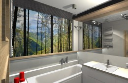 Łazienka w dwóch odsłonach