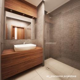 Łazienka w mieszkaniu.