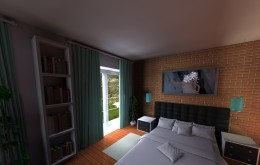 Dom pod Wwą_sypialnia