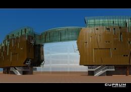 Projekt Elewacji Galerii Handlowej