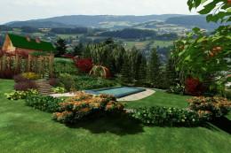 Ogród w Mordarce