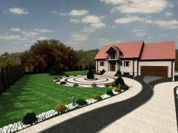 Ogród okolice Krakowa III