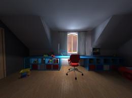 Pokój małego Mikołaja