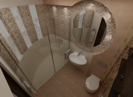 Stylowa aranżacja łazienki w Warszawie