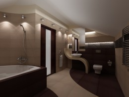Nowoczesna łazienka w Krakowie