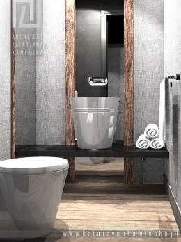 WARSZAWA WILANÓW Projekt łazienki w dwóch odsłonach