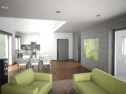 wnętrze domu jednorodzinnego w żorach