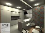 Projekt wnętrza domu jednorodzinnego Grudziądz
