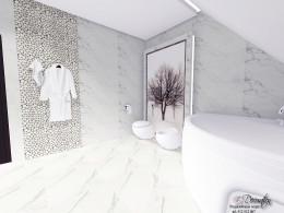 Marmurowy salonik kąpielowy