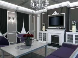 Stylowy salon