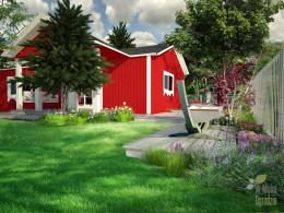 Ogród w stylu skandynawskim