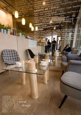 Wood Design w Bema Cafe